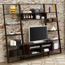 Arlington Home Entertainment Center with iTV Stand and Shelving Units