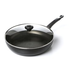 """High Performance 12"""" Non-Stick Skillet with Lid"""