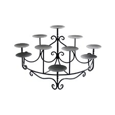 Mini Spandrels Iron Candelabra