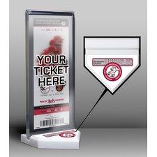 Homer Bailey Second No-Hitter Cincinnati Reds Ticket Stand