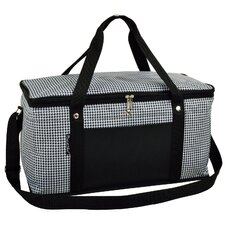 72 Can Houndstooth Large Trunk Cooler