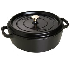Cast Iron Round Dutch Oven with Lid