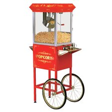8 oz. Deluxe Kettle Old Fashioned Popcorn Trolley