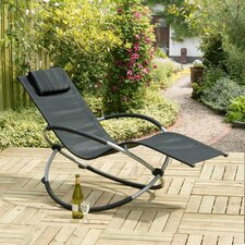 Orbit Relaxer Sun Lounger with Cushion