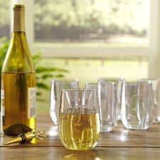 Monogrammed Tritan™ 11.5 Oz. Stemless Wine Glass (Set of 6)