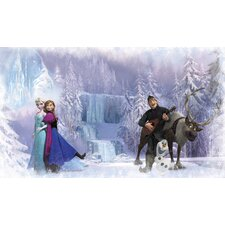 Disney Frozen Prepasted Wall Mural