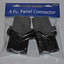 """3"""" H x 2"""" W x 1"""" D Pet Gazebo 4 Piece Connector"""