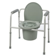 3-in-1 Commode Toilet Seat (Set of 4)