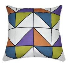 Geometric II Cotton Throw Pillow