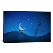 Stealing the Moon Canvas Art