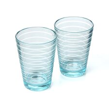 Aino Aalto 11.75 oz. Water Glass Tall Tumbler (Set of 2)