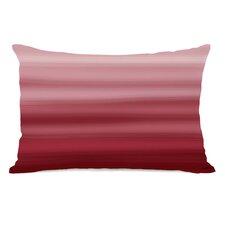 Ombre Watercolors Lumbar Pillow