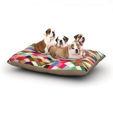Danny Ivan 'Adored' Art Object Dog Pillow with Fleece Cozy Top