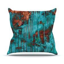 Rusty by Iris Lehnhardt Paint Throw Pillow