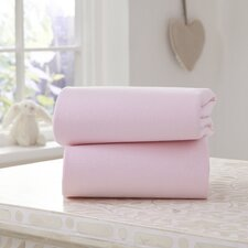 Fitted Bassinet Sheet (Set of 2)