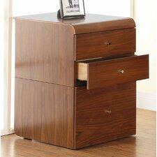 Curve 3-Drawer Vertical Filing Cabinet