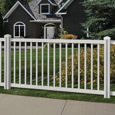 Traditional 4' x 7' Yard and Pool Fence
