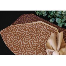 Illusions Table Linens Reversible Placemat (Set of 2)