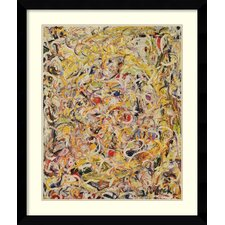 shimmering substance 1946 by jackson pollock framed painting print