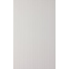 Vibrance 39.8cm x 24.8cm Ceramic Fabric Look/Field Tile in White