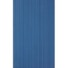 Vibrance 39.8cm x 24.8cm Ceramic Fabric Look/Field Tile in Blue