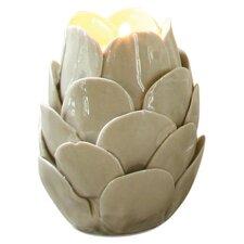 Artichoke Ceramic Tealight Candle Holder
