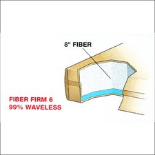 "Dreamweaver The Ultimate 9"" Fiber Firm 6 Waterbed Mattress"