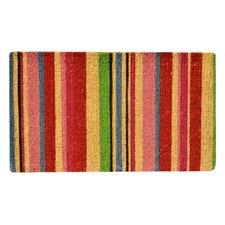 Stripes Coir Doormat