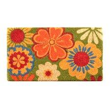 Fenner Summer Flower Coir Doormat