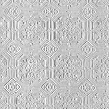 Original 10m L x 52cm W Damask 3D Embossed Roll Wallpaper