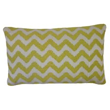 Bright and Fresh Zig Zag Cotton Lumbar Pillow