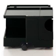 Joe Colombo Mobile Boby Trolley Printer Stand with Shelves