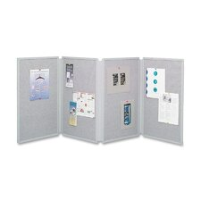 Tabletop Free-Standing Bulletin Board, 2' H x 3' W