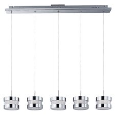 Disco 5-Light LED Pendant