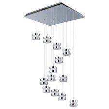 Disco 13 LED Integrated Bulb Cascade Pendant