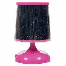 """Northwest Sky Constellation Star Projector 6"""" Table Lamp"""