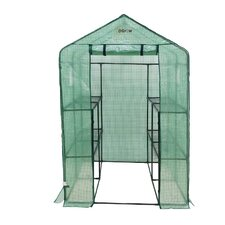 Walk-In 1.2m W x 1.9m D Greenhouse