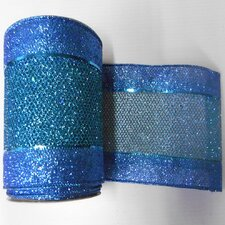 Diamond Mesh Edged Ribbon