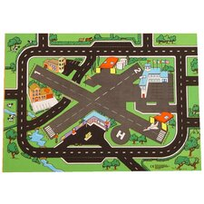Airport Roadway Play Mat