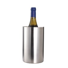 Bar Craft Double Walled Wine Cooler in Stainless Steel