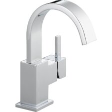 Vero Single Hole Bathroom Faucet with Metal Pop Up Drain