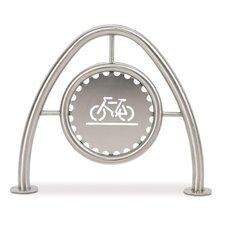 Modern 2 Bike Freestanding Bike Rack
