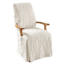 Matelasse Damask Armchair Slipcover  by Sure Fit