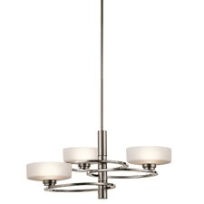 Aleeka 3-Light Drum Chandelier