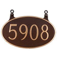 1-Line Address Plaque