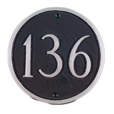 Petite 1-Line Address Plaque