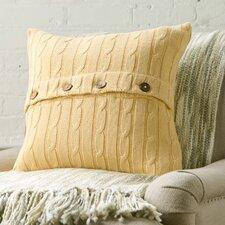 Colette Cable-Knit 100% Cotton Pillow Cover