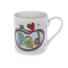 Celebrations 10cm Fine Bone China Dad Mug