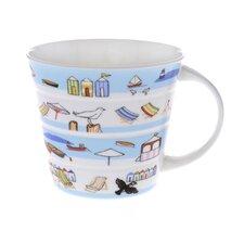 10cm Fine Bone China Seaside Mug