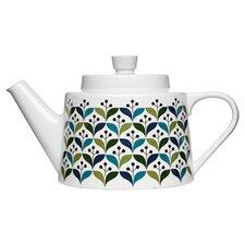 Retro Stoneware Teapot
